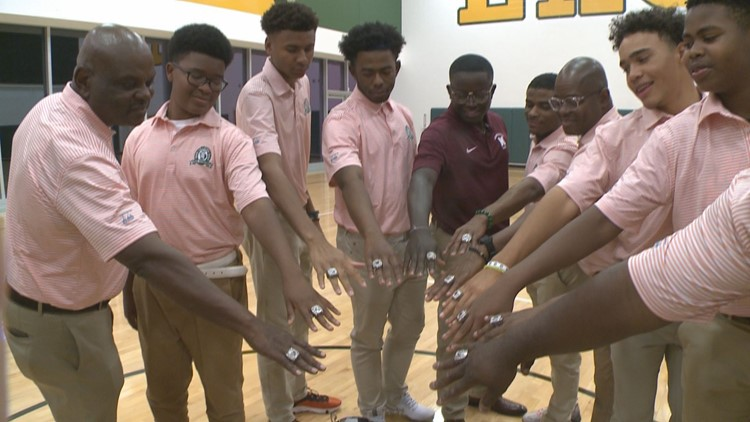 First all-black golf team to win Georgia state title gets their championship rings