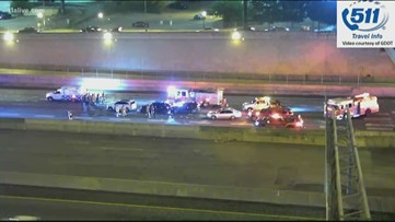 Crash victim's feet possibly amputated in wreck on Downtown Connector