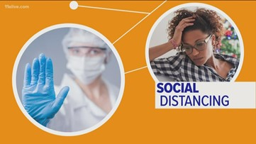 Social distancing directly connects to your health