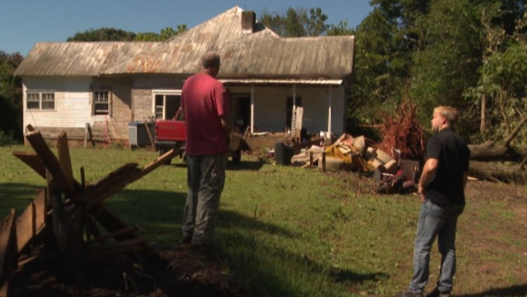 Total of 6 tornadoes confirmed from Tuesday's storms