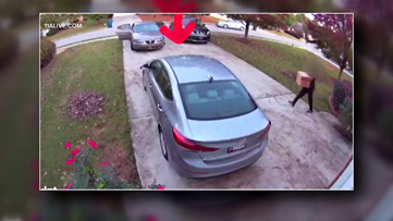 McDonough woman says security video shows Amazon driver deliver packages, take one back