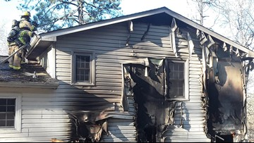 Gwinnett resident comes home to find house severely damaged by fire, dog dead