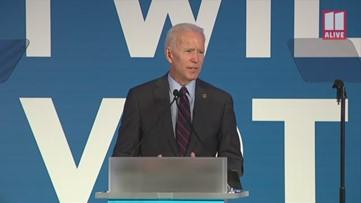 Joe Biden: If I'm the nominee I'll win Texas, South Carolina and Georgia