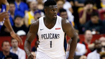 Pelicans rookie Zion Williamson to face Atlanta Hawks in October