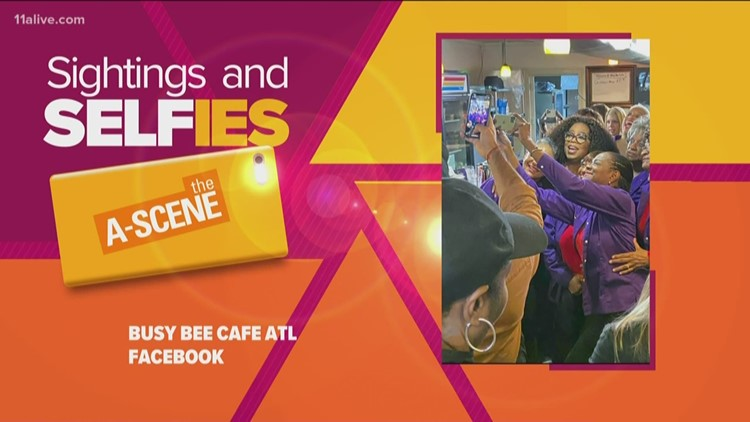 Busy Bee Cafe customers wowed by Oprah appearance