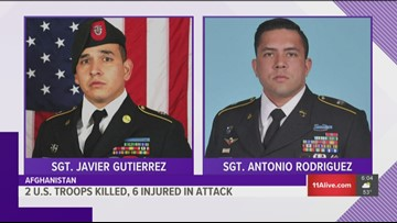 2 US soldiers killed, 6 wounded in Afghanistan attack