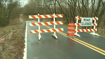 Roads closed in Floyd County due to high water