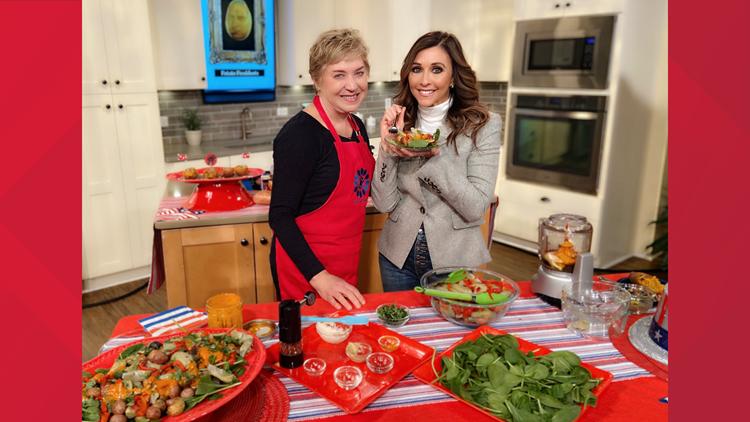 Taste & Savor's Nancy Waldeck and Christine Pullara