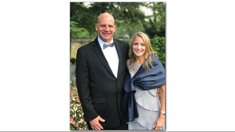 Elise Roth Tedeschi and her husband, Patrick