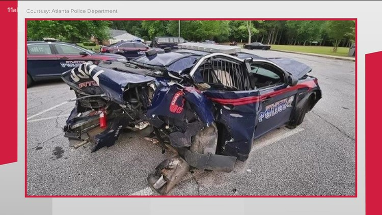 'I was praying to God' Atlanta police officer still recovering after being hit by suspected drunk driver