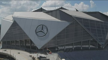 Intro for NFL's Sunday Night Football to be filmed at Mercedes-Benz Stadium
