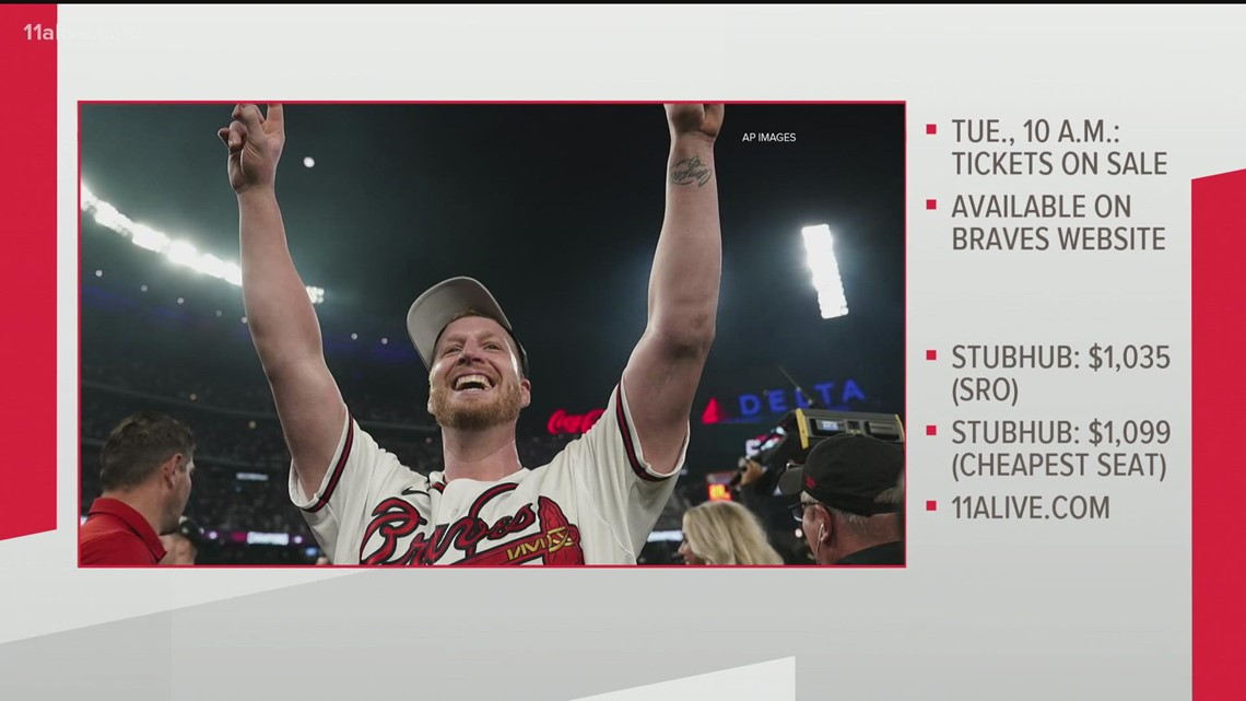 Atlanta Braves World Series tickets: How to get them