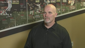 One-on-One interview with Falcons Coach Dan Quinn