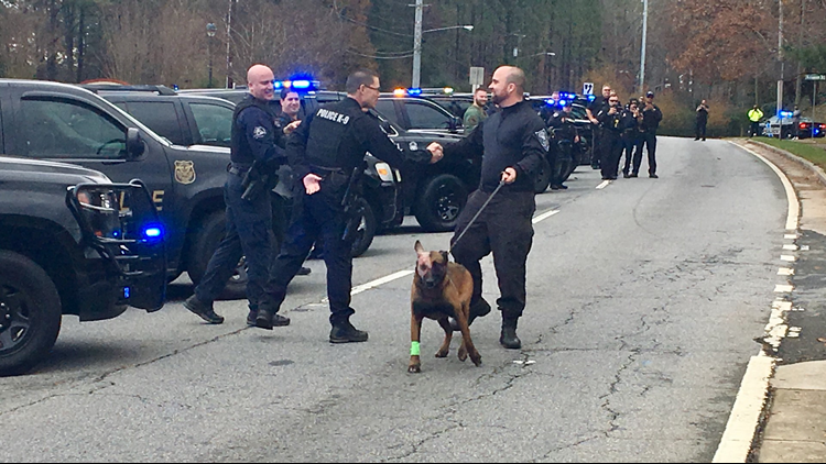 Injured K9 Indi released from hospital