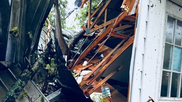 EF-1 tornado winds bombard church in Hall County days before Easter