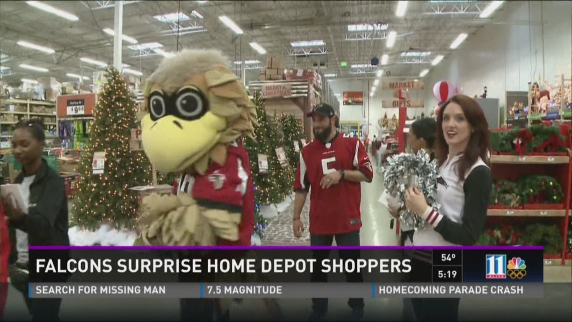 Falcons Surprise Home Depot Shoppers 11alive Com
