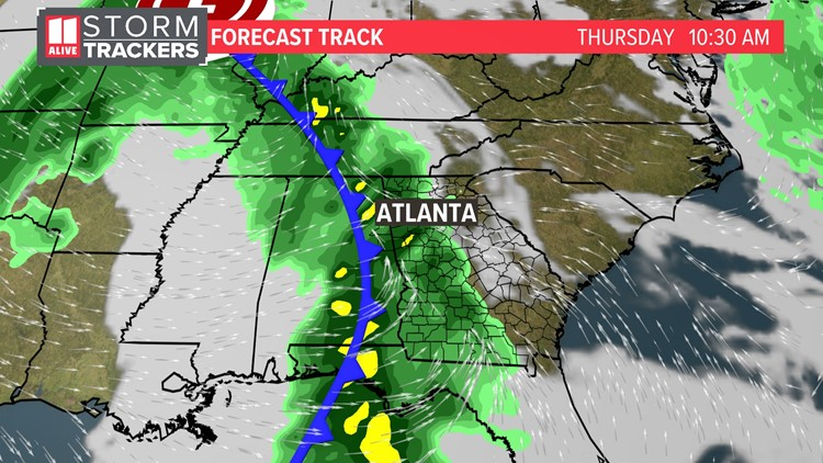 A series of storms & temperature roller coaster ahead this week