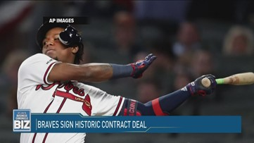 Braves Sign Historic Contract Deal