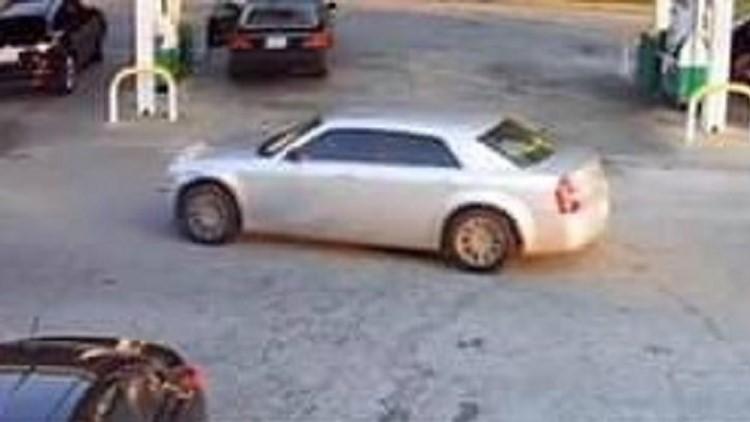 Chrysler 300 getaway vehicle