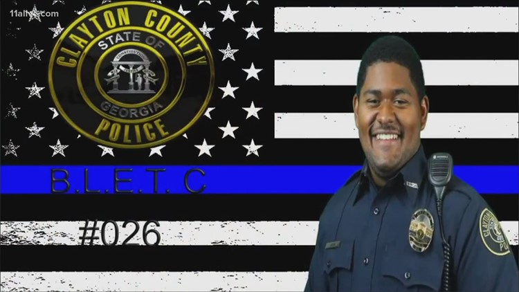 Clayton County Police identify officer killed in accident on Tara Boulevard
