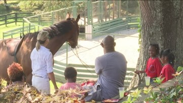 'Ride to the Olympics' charity exposes kids to equestrian sports