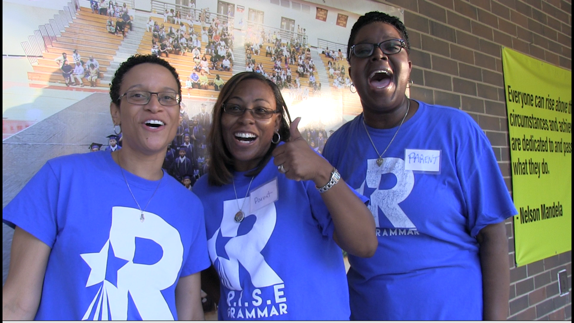 Students enjoyed a warm 'Welcome Back' to RISE