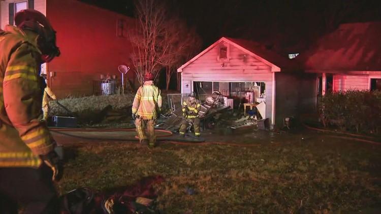 Resident severely burned in DeKalb County house fire