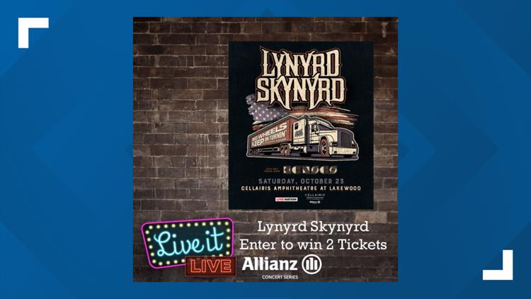 Enter to win 2 tickets to see Lynyrd Skynyrd