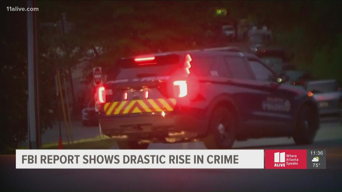 Violent crime increases in Georgia, New FBI report shows