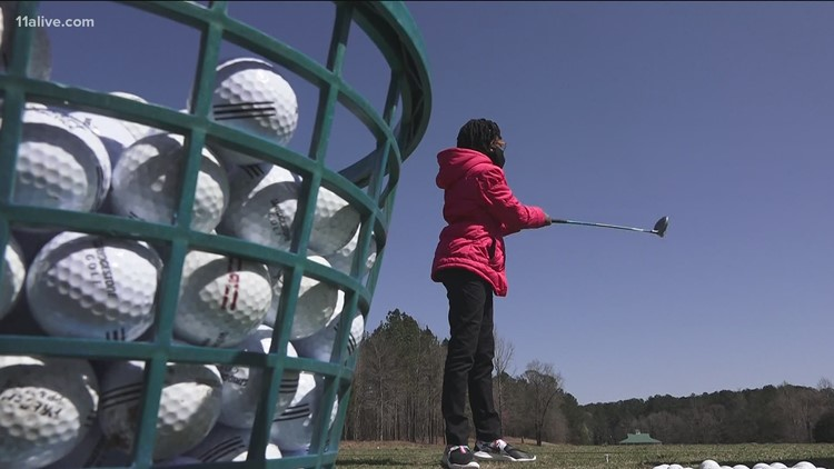 Girls working to put golf on a different course | Voices for Equality