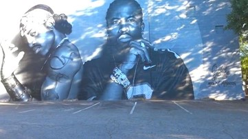 Quizzing Outkast fans as they flock to new mural that pays tribute to the iconic rap group
