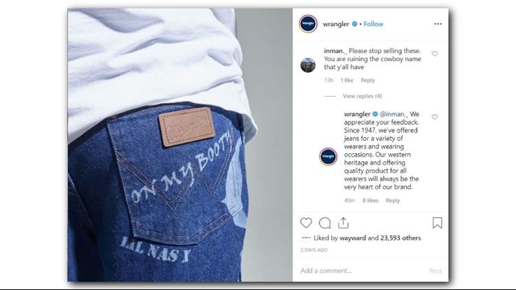 Wrangler Instagram