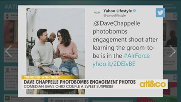 Dave Chappelle Crashes Engagement Shoot