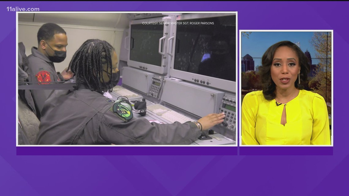 JSTARS Make History | First ever all African American flight crew to fly training mission from Robbins Air Force Base