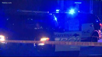 Pedestrian hit by car and killed in Smyrna