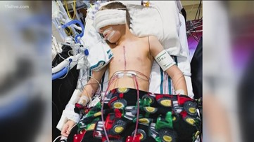 'Heart warrior' meets heroes after life-saving surgery with help from Georgia Tech group