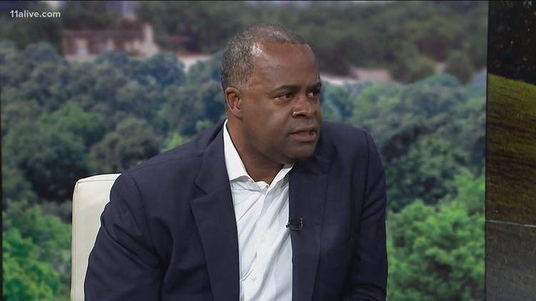 Kasim Reed, running for Atlanta mayor again, talks about city's crime