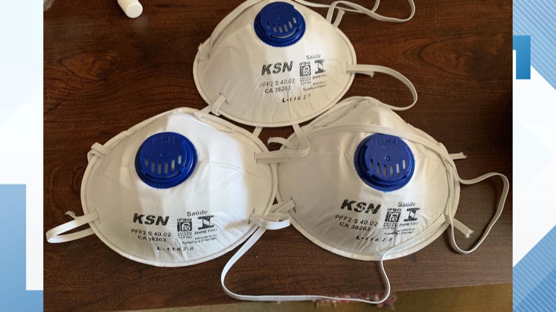 Local man finds 20,000 N95 masks