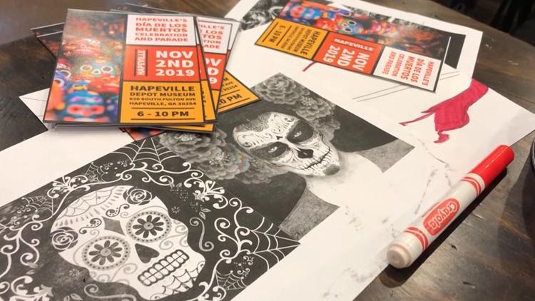 Drop Dead Gorgeous | Hapeville hosts mask-making workshop