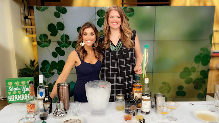St. Patrick's Day Cocktails with Sumptuous Living