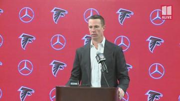 Matt Ryan talks about milestone-making final home game of the season