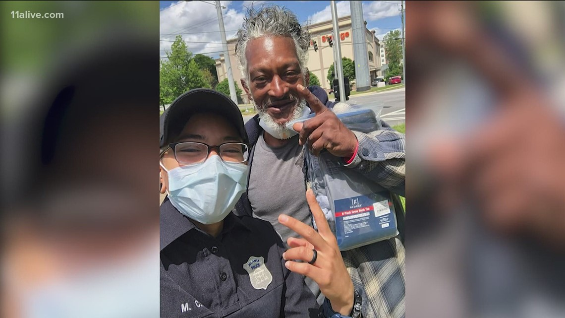 Atlanta officer, homeless man develop special bond, look out for one another