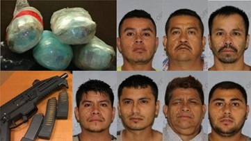 $1 8 million worth of meth, heroin, cocaine and pot nabbed