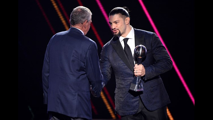 Roman Reigns wins ESPY Award for best WWE moment