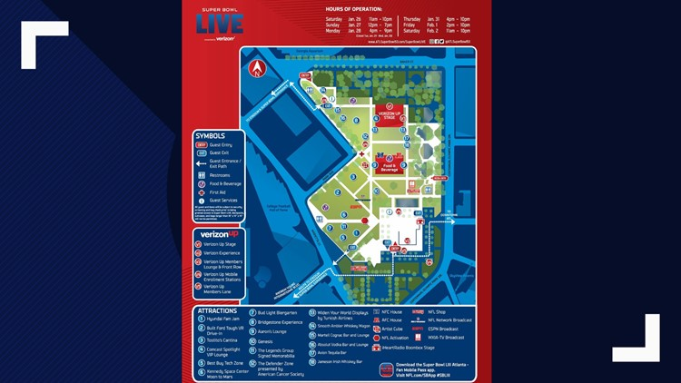 Free Super Bowl concerts at Centennial Park | 11alive.com on illinois marathon map, lowell riverfront trail map, georgia world congress center map, the factory at franklin map, downtown franklin map, penrith map, fairfield map, the hermitage map, mascot map, limestone canyon map, coronado central beach map, hammond stadium map, cibola national wildlife refuge map, piedmont park map, hunters hill map, turner stadium map, belle meade plantation map, ballast point map, tennessee state fairgrounds map, baltimore city hall map,