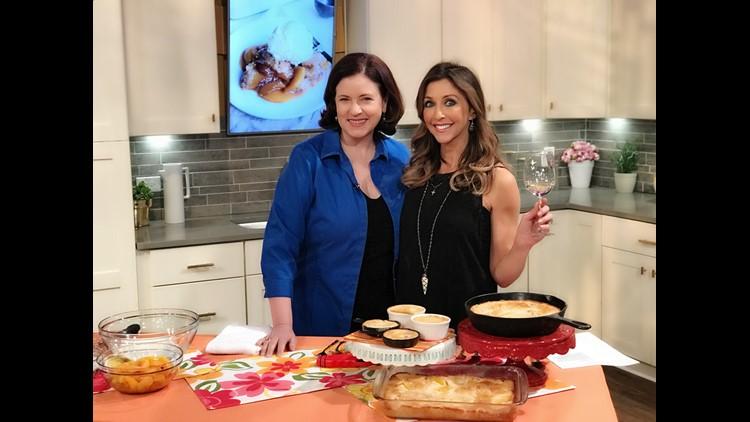 Get a homemade peach cobbler recipe from award-winning cookbook author Cynthia Graubart!