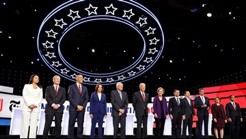 Why did the Democrats choose Atlanta for their fifth debate?