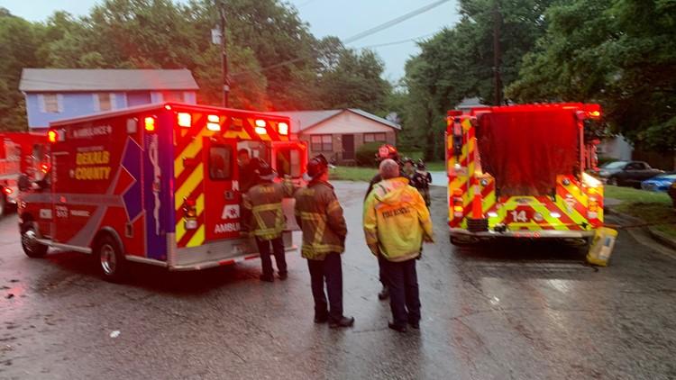 dekalb fire crews respond to house fire in redan area