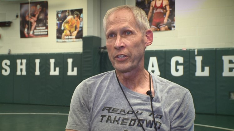 A wrestling coach was diagnosed with pancreatic cancer. He fought for his life - and one more practice.