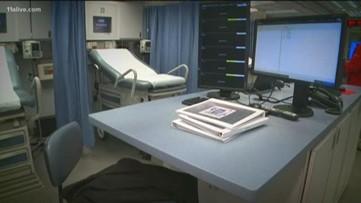 Possible flu spike brings 'mobile ER' back to Grady Memorial Hospital parking lot